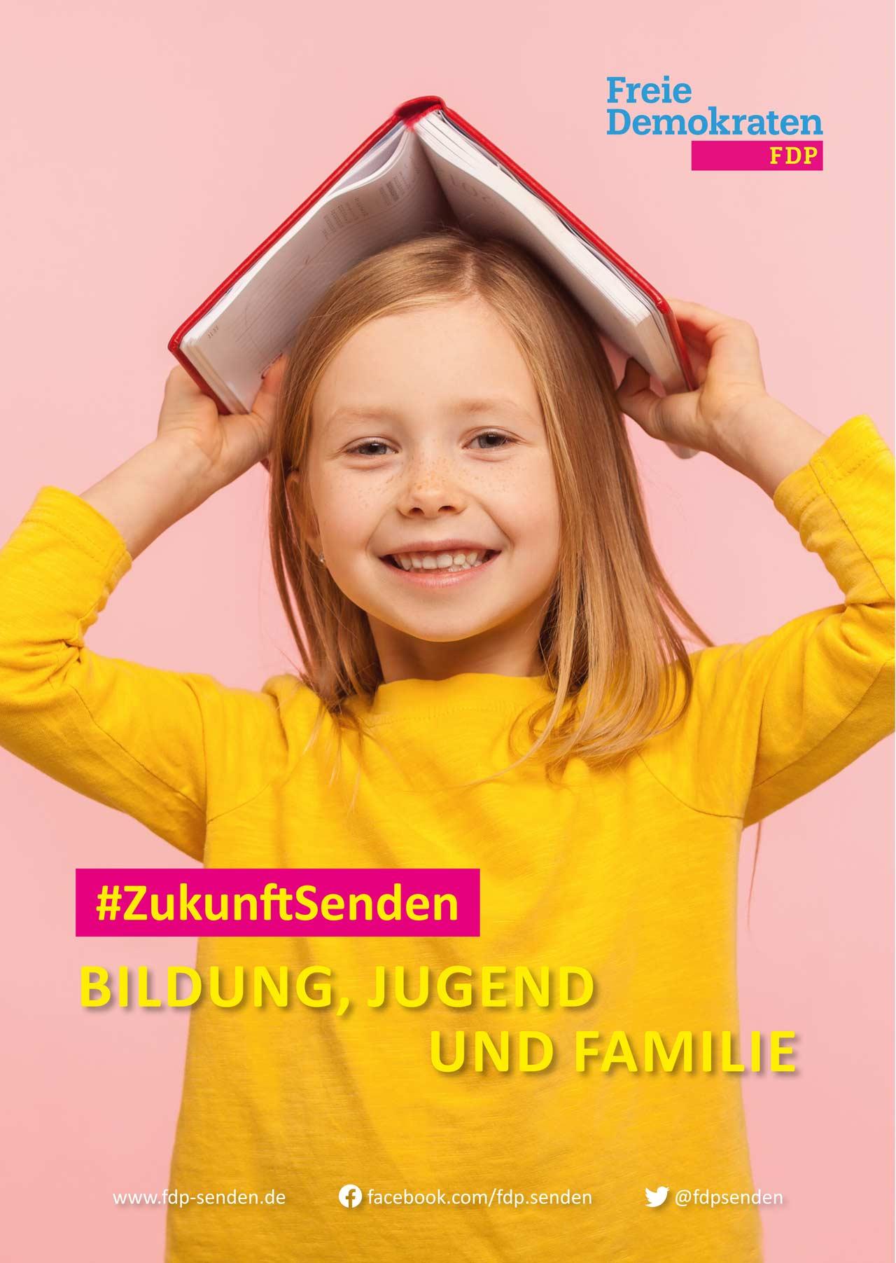 FDP-Senden_Wahlplakat-Bildung