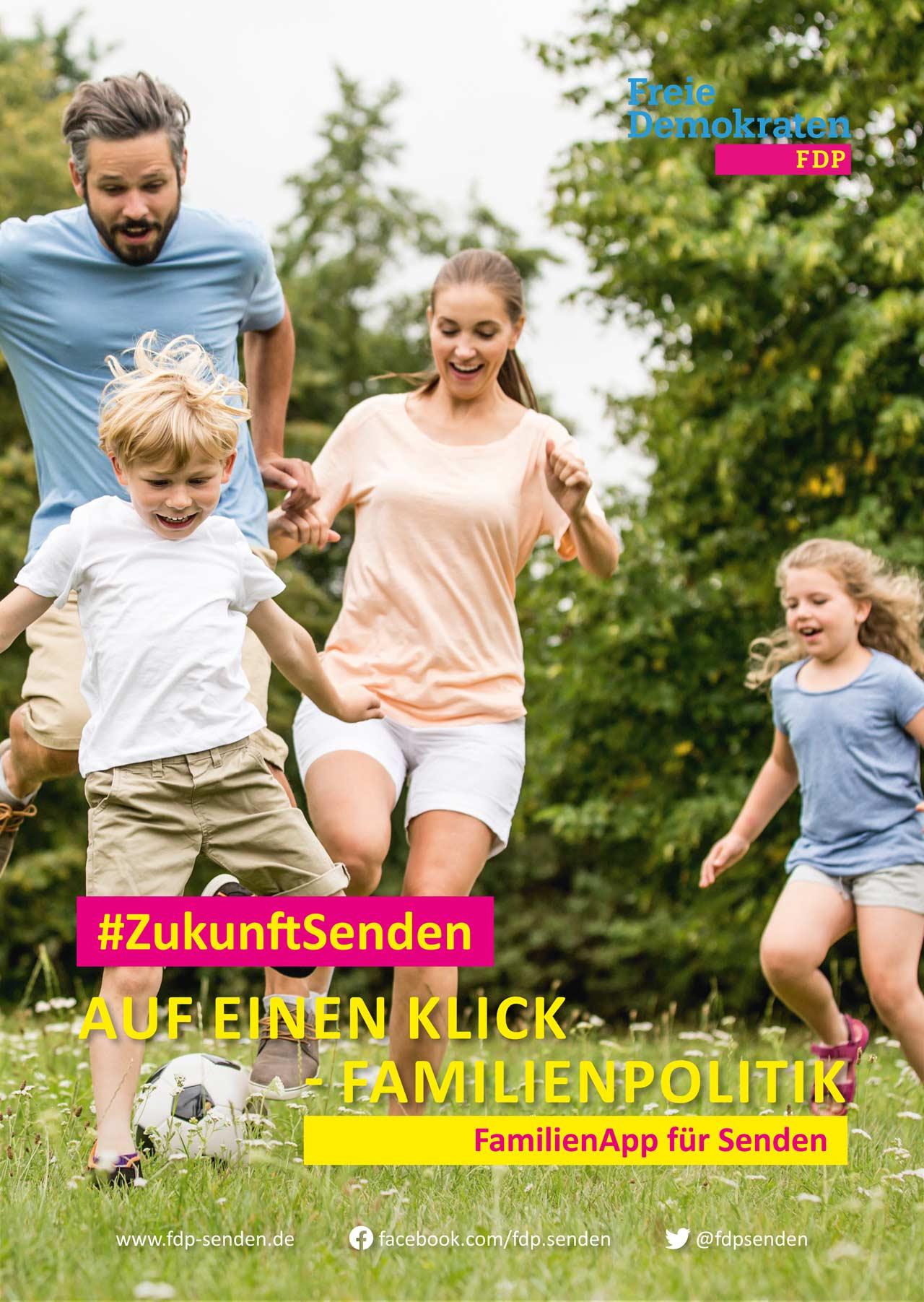 FDP-Senden_Wahlplakat-Familie