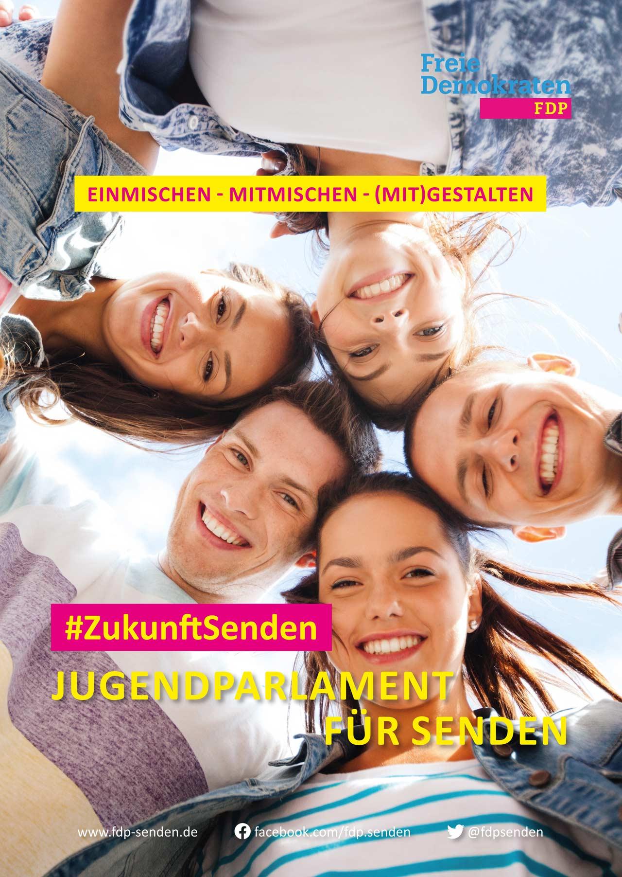 FDP-Senden_Wahlplakat-Jugend