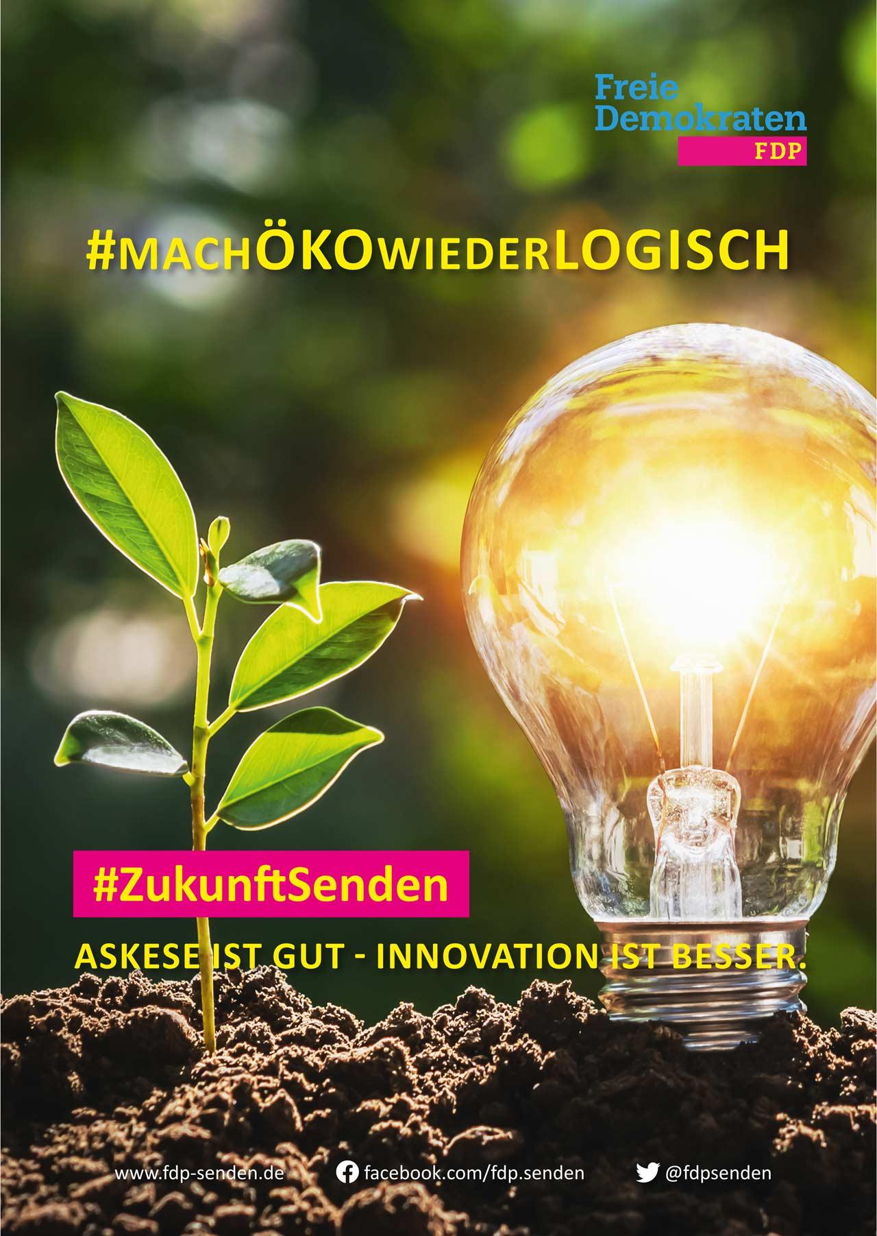 FDP-Senden_Wahlplakat-Oeko