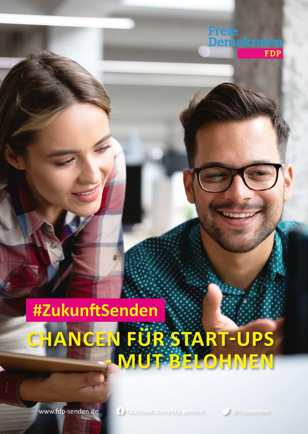 FDP-Senden_Wahlplakat-Startup
